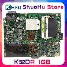 Kefu для ASUS K52DR K52D K52DE A52D A52DR A52DE 1 Гб 8 памяти Материнская плата ноутбука протестированная 100% работа оригинальная материнская плата