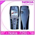7250 в исходном восстановленное Nokia 7250 мобильный телефон старый дешевый телефон синий цвет бесплатная доставка