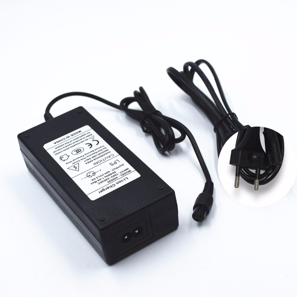 Lithium Battery Charger 42V 2A Smart Energy Saving Newest IC Scheme Balance Car Kick Scooters Foot Scooters Skate Board Booster 6 5 adult electric scooter hoverboard skateboard overboard smart balance skateboard balance board giroskuter or oxboard