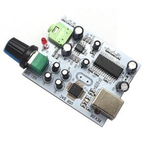 Image 4 - Lusya placa de áudio cm108 + tda1305t + tda1308, iis/i2s para 3.5mm, saída usb amp usb dac decodificador a1 009