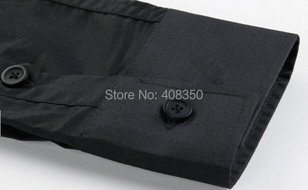Men\'s Fashion Quality Metal Chain Cotton BlackWhite Long Sleeve Party Dress Shirt Casual Masculina Camiseta Cool Business Shirt (7).jpg