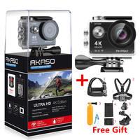 AKASO EK7000 4k WIFI Outdoor Sport Action Camera Ultra HD Waterproof DV Camcorder 12MP Extreme Underwater 1080p 60fps Video Cam