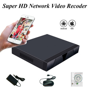Image 2 - H.265 보안 네트워크 비디오 레코더 H.265/264 IP 카메라 용 16CH 5MP 8CH 4MP 보안 NVR Onvif 스마트 폰 PC 원격 액세스