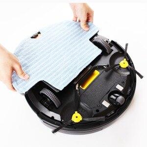 Image 5 - LIECTROUX Q7000 Robotic Vacuum Cleaner, in Programma A Zig zag, Giroscopio di Navigazione, di Smart Chip, Virtuale Bloccante, lampada UV, Asciutto Bagnato Pulire