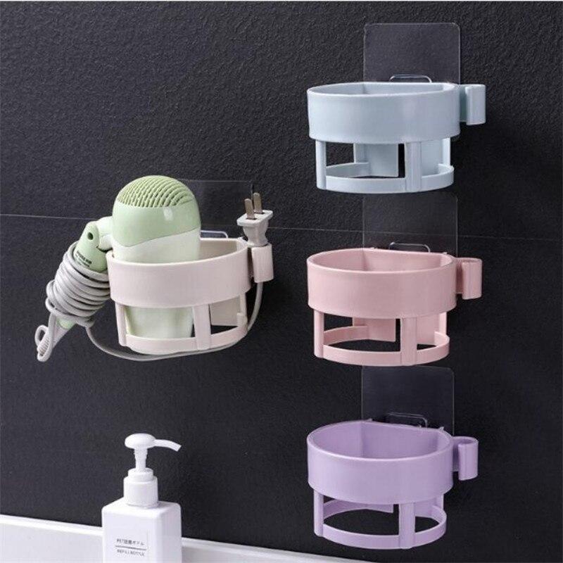 Non-trace Blower Wearing Hair Dryer Buy Object Hanging Shelf Toilet Bathroom Receive Ram Wholesale