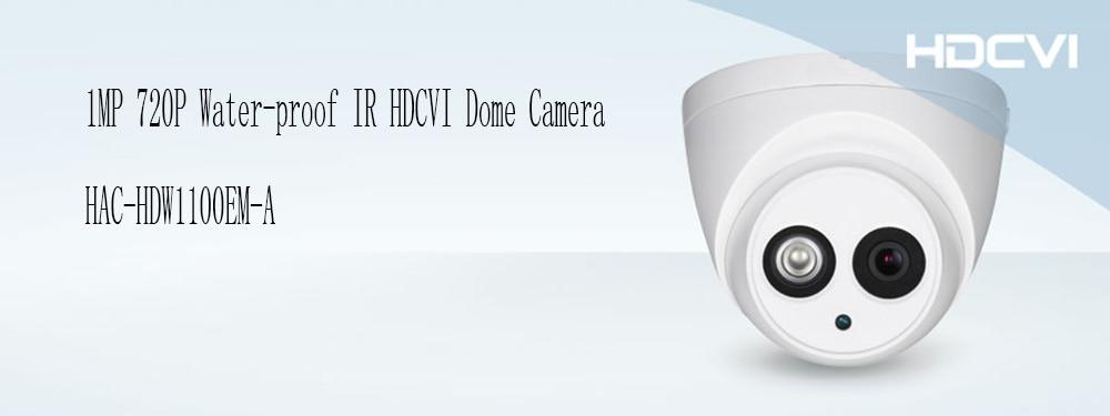 Free Shipping DAHUA CCTV Security Camera 1MP HDCVI IR Eyeball Camera IP67 without Logo HAC-HDW1100EM-A free shipping dahua cctv security camera 1mp hdcvi ir bullet camera ip67 without logo hac hfw1100sl