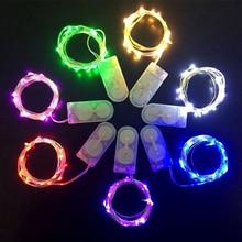 цена 10pcs Led Christmas lights outdoor indoor holiday led string light decoration party holiday New Year wedding garland fairy light онлайн в 2017 году