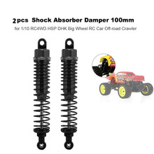 2pcs Aluminum Front Rear Shock Absorber for Traxxas Slash 4x4 RC 1:10 Car GHS99 1 5 degree toe aluminum rear stub axle carriers for the traxxas stampede 4x4 slash 4x4 nitro rustler or nitro stampede