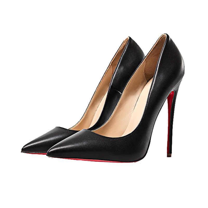 red bottom high heels