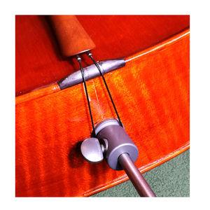 Image 3 - Stradpet titanium cello fim botão & cilindro de bloqueio para diâmetro 10mm endpin só em brilhante ou cinza arma