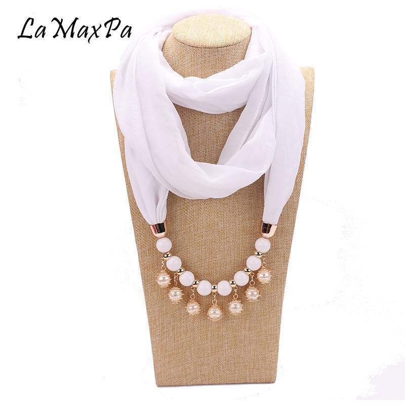 LaMaxPa Newest Women Liontin Hijab Women Pendant Jewelry Scarf Mujer Colgante Bufanda Frau Schal Femme Scarves Vrouwen Sjaals