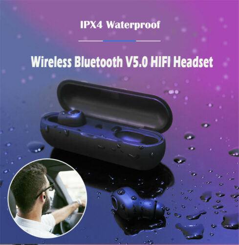 Airdots TWS Bluetooth Earphone Mini Wireless Bluetooth 5.0 Super Bass Sports Earbuds In-Ear Headset With Mic Earbuds