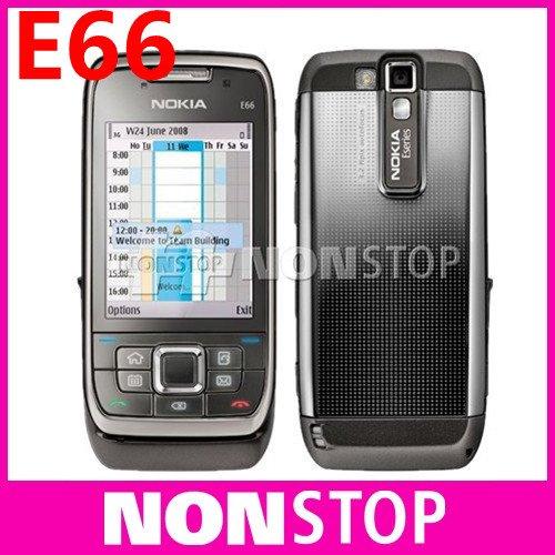 E66 Original Nokia E66 WIFI GPS 3.15MP Camera 3G Unlocked