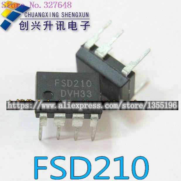 10pcs/lot FSD210 FSD 210 DIP-7 In Stock10pcs/lot FSD210 FSD 210 DIP-7 In Stock