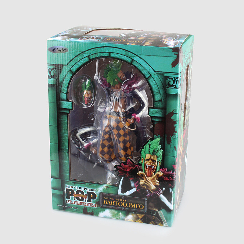 ФОТО One Piece POP Action Figures Bartolomeo Model Toys One Piece Anime Pop Japanese Anime Figure Toy