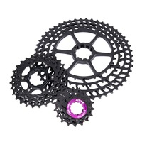 11 Speed Cassette 11 50T UltraLight Bicycle Freewheel Compatible MTB Bike High Tensile Steel Sprocket Folding Gear Bicycle Parts