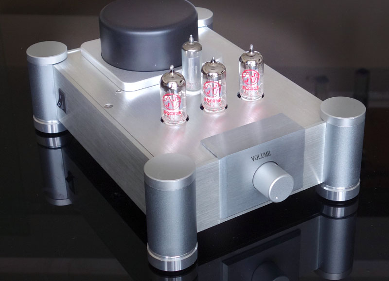 Marantz 7 tout en aluminium amplificateur châssis préampli à lampes/amplificateur/AMP boîtier/boîtier/boîtier de bricolage (202*80*282mm)