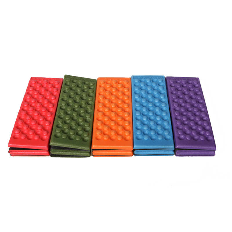 XC USHIO Foldable Folding Outdoor Camping Mat XPE Waterproof Seat Foam Pad Chair Picnic Moisture-proof Mattress Beach Mat Pad