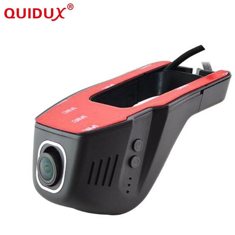 QUIDUX WiFi Voiture DVR 1080 p Enregistreur Vidéo Dash Caméra Novatek 96658 Caméscope Enregistreur Vidéo numérique Nuit Version IMX 322
