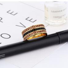 Модные креативные Для мужчин s кольца ювелирные изделия Кольца