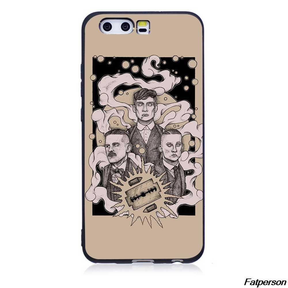 Peaky Blinders 5 Soft Case Telefone TPU Para Huawei P20 P20Lite P10 P10Lite P8 P9Lite 2017 preto Da Tampa Do Caso Para huawei P30 P30Lite