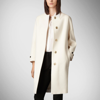 Hot Sale Long Coats New Autumn Large Size Women Coat European High-end Double Sided Cloth Cashmercovered Button Coat