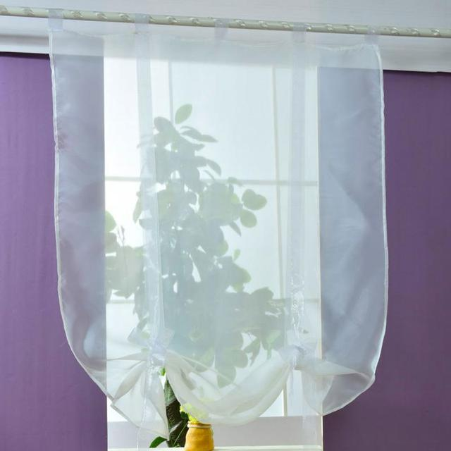 Hot Sales Pure Color Roller Shutters Window Curtain Hall Home Decor Bathroom