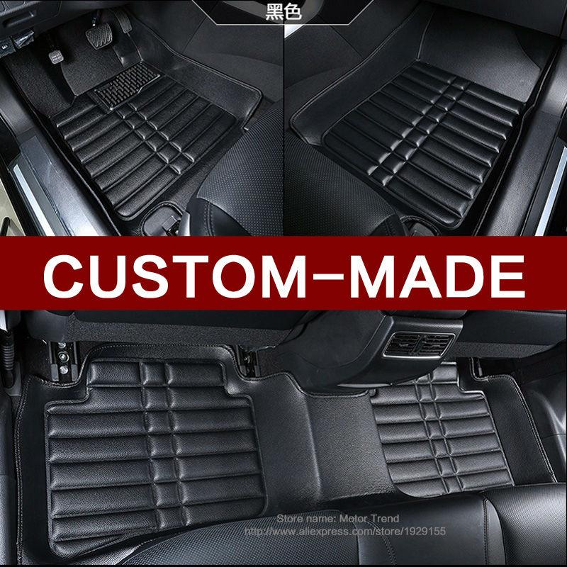 Custom fit car <font><b>floor</b></font> mats for <font><b>Ford</b></font> Edge <font><b>Escape</b></font> Fusion Mondeo Ecosport Explorer Focus Fiesta car styling carpet liner RY36