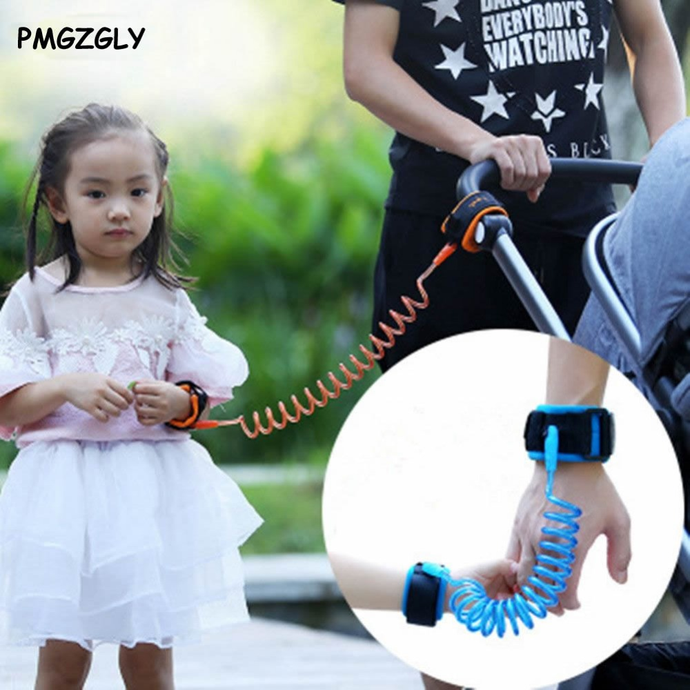 Doorways Safety Harness Leash Anti Lost Wrist Link Rope Leash Anti Lost Bracelet For Baby Kids Safety Retractable Leashes Gates
