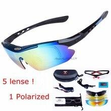 336f38cc8ca51 5 lente polarizada homens óculos de tiro tático airsoft óculos de miopia  esportes eyewear para camping