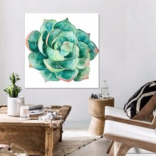 ФОТО imixlot 5 kinds of lotus canvas painting modern wall art abstract oil posters prints pictures for living room kitchen home decor