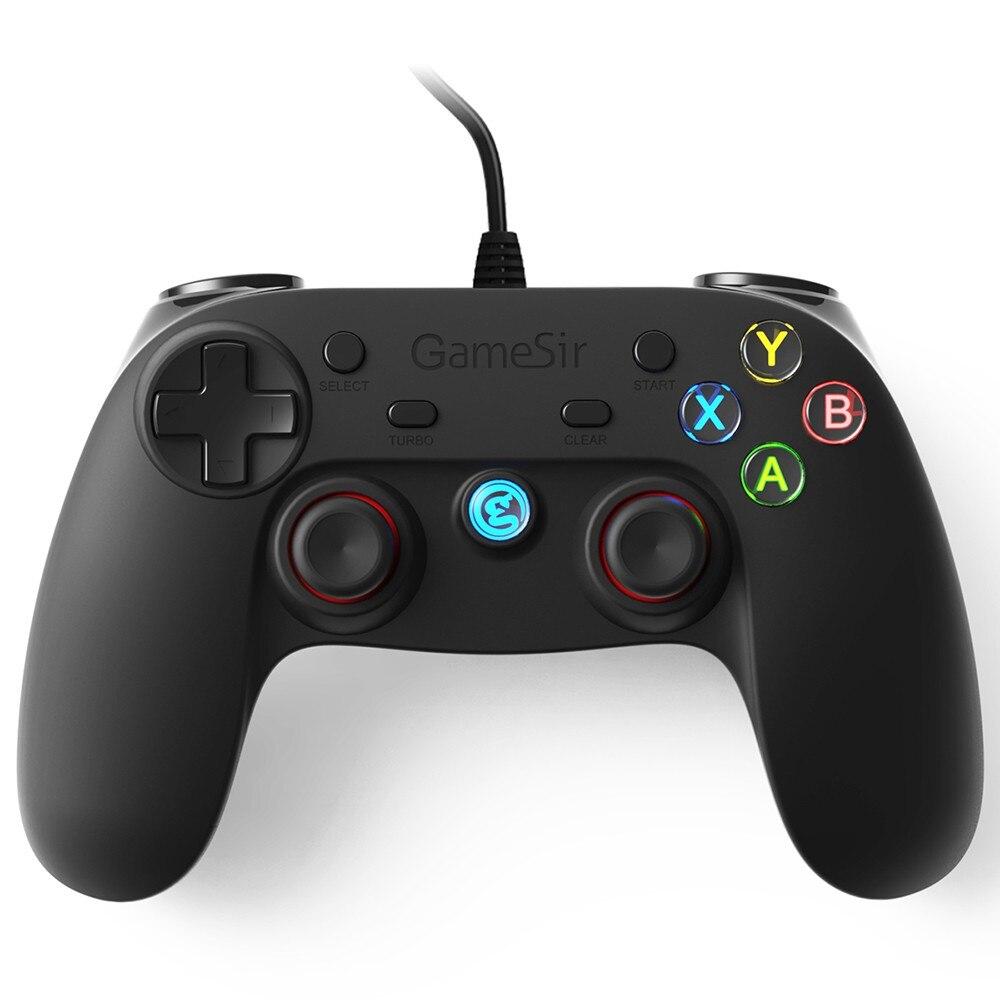 Filaire USB Gamepad Game Controller Joystick Game Pad pour Android Téléphones Intelligents et PS3 Tablet PC Ordinateur WinXP avec Téléphone support