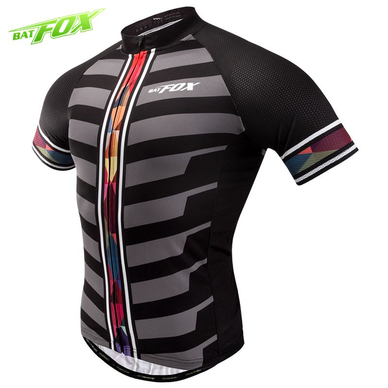 BATFOX Cycling Jersey Quick Dry Breathable Short Sleeve Summer Shirt Bicycle Wear Ropa Maillot Ciclismo Racing Bicycle ClothesBATFOX Cycling Jersey Quick Dry Breathable Short Sleeve Summer Shirt Bicycle Wear Ropa Maillot Ciclismo Racing Bicycle Clothes