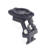 Cycling Computer Mount For Brompton Folding Bikes fit Garmin Bryton GPS Mount Holder Phone Adaptor Bike Accessories