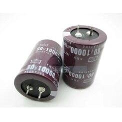 80V 10000UF 10000UF 80V Electrolytic Capacitors volume 35X50