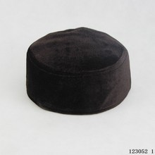 Winter Soft shell suede warm Muslim Prayer Cap ,muslim men cap
