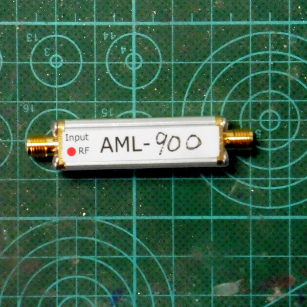900MHz (868MHz) coaxial feed RF low noise antenna amplifier  LNA|Counters| |  - title=