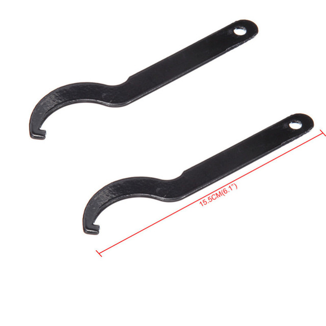 TDPRO Metal Motorcycle Shock Absorber Suspension Tools C Spanner Wrench Hand Tool Hook For Honda Yamaha Suzuki Motorcycle Bikes