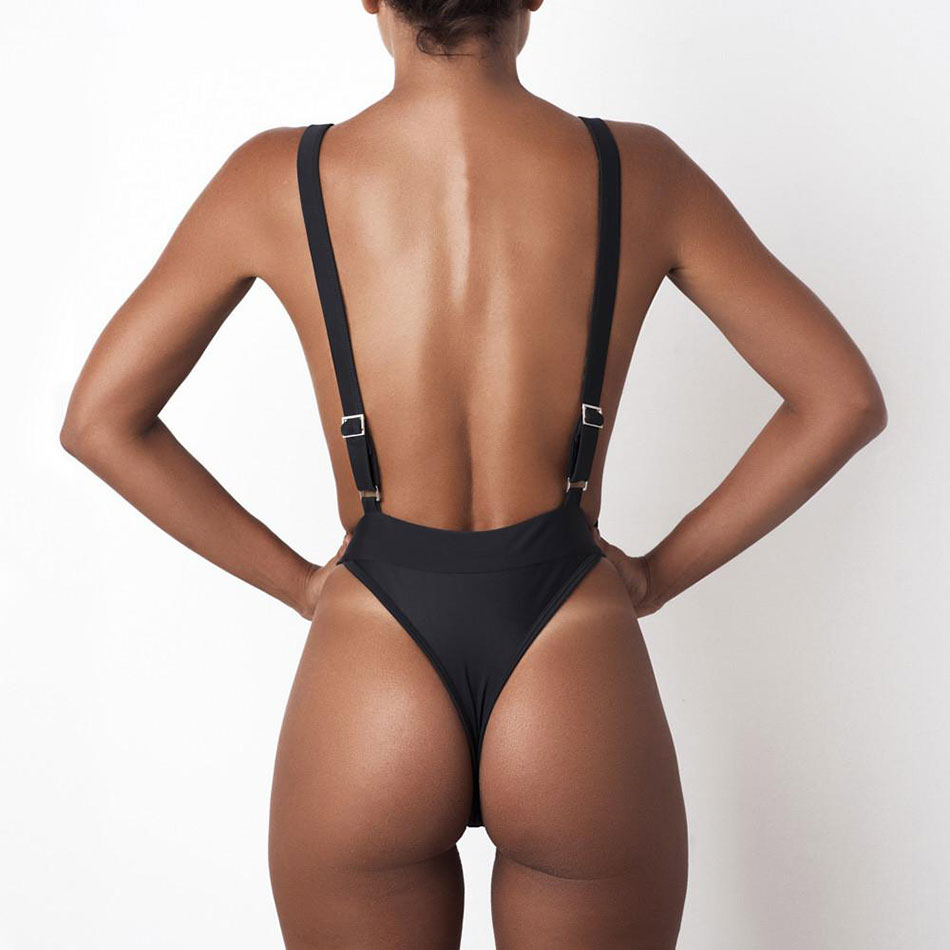 2018 Sexy Women's One Piece Swimsuit Swimwear Female Swimming Beach Wear Bathing Suit Bodysuit Trikini One-Piece Suits Biquini