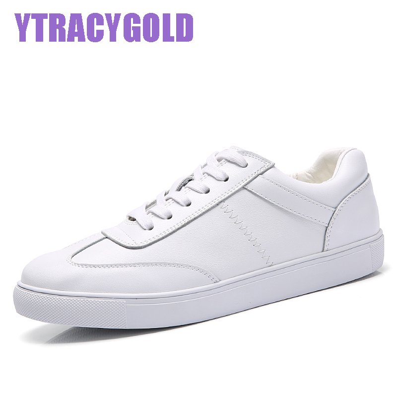 YTRACYGOLD Women White Shoes Hollow Leather Famous Brand Female Casual Shoes Tails 2017 New Fashion Leisure Flats Breathable vikeduo brand 2017 fashion top real leather hollow breathable men shoes leisure casual lace shoes summer spring white footwear