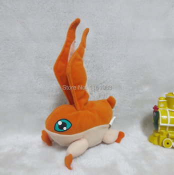 Happy Meal Digimon Adventure Toy 15cm Patamon Mini Plush Doll Kids Toys Pelucia Boneca Dolls For Children Gifts