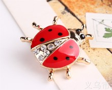 Ladybird Brooch for Women