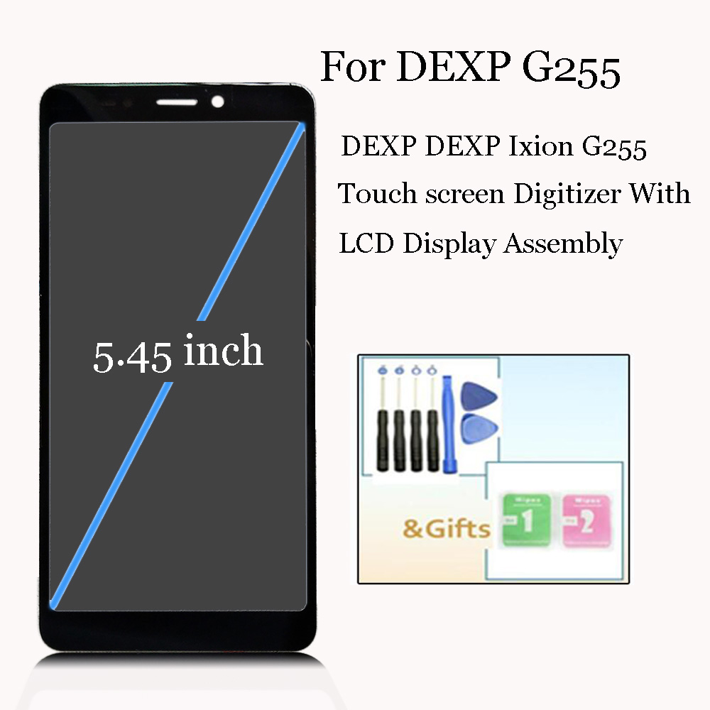 """5.45"""" NEW Original For DEXP ixion G255/ DEXP G255 LCD Display With Touch screen Digitizier Assembly parts"""