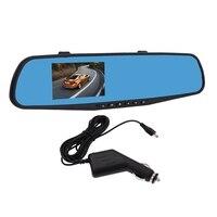 4 Inch Car Dvr Camera Full HD 1080P IPS screen Digital Video Recorder Camcorder Night Vision Car DVR Dash Cam Rearview Mirror