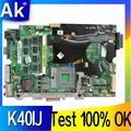 AK K40IJ Laptop motherboard für ASUS K40IJ K50IJ K60IJ X5DIJ K40AB K50AB K40 K50 Test original mainboard-in Motherboards aus Computer und Büro bei