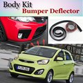 Bumper Lip Deflector Lips For KIA EuroStar Picanto Morning Naza Suria Front Spoiler Skirt For Car Tuning View / Body Kit / Strip
