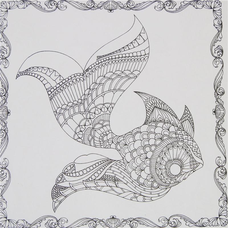 adult coloring book  lost ocean