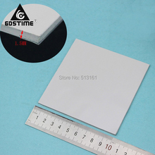 2 Pieces 100mm*100mm*1.5mm Computer Heatsink Chip Cooling Conductive Thermal Pad