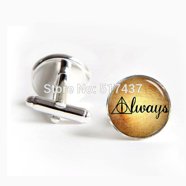 1 pair Wedding Cufflinks Groom Always Cufflinks Dealthy Hallow ...