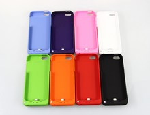 Brand NEW 2200mAh External Backup Power bank Battery Charger Cover Case for iphone 5 5S Retail package High quality